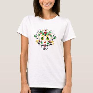 Girl pirate Lucky Skull T-Shirt