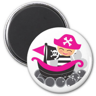 Girl Pirate Magnet