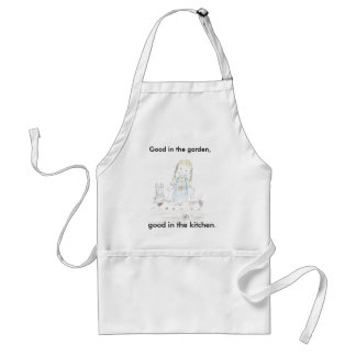 Girl Planting Aprons