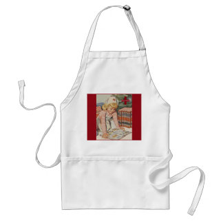 Girl playing Nurse - Retro Standard Apron