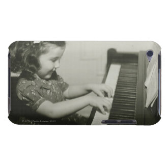 Girl Playing Piano iPod Touch Covers