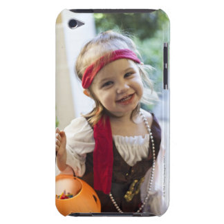 Girl playing Trick Or Treat Barely There iPod Cases