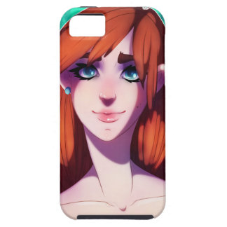 Girl Portrait Case For The iPhone 5