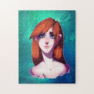Girl Portrait Puzzle