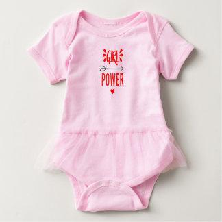 Girl Power all day Baby Bodysuit