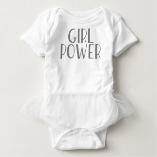 Girl Power Baby Bodysuit