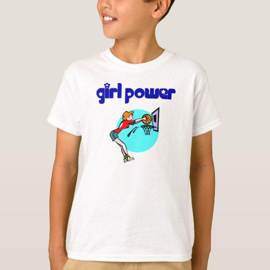 Girl Power Basketball T-shirts