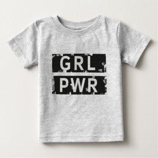 Girl Power Black&White Baby T-Shirt