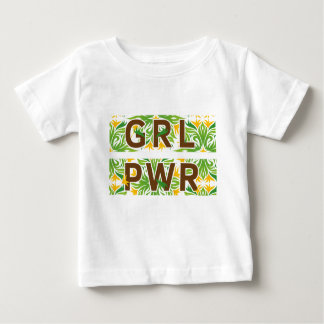 Girl Power Color Baby T-Shirt