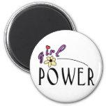 Girl Power Fridge Magnet