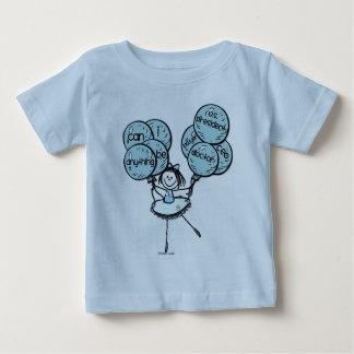Girl Power - Go Blue! Baby T-Shirt