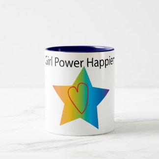girl power hapiness mug