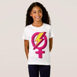 Girl Power Lightning Bolt T-shirt