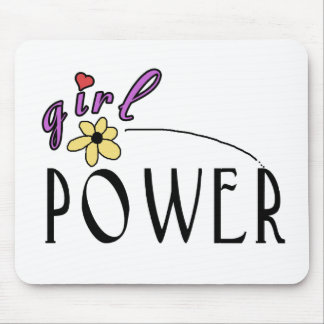 Girl Power Mouse Pad