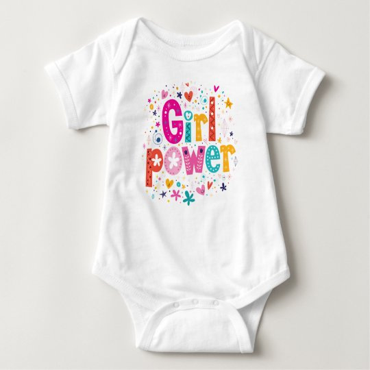 Girl Power Playful Heart by Mini Brothers Baby