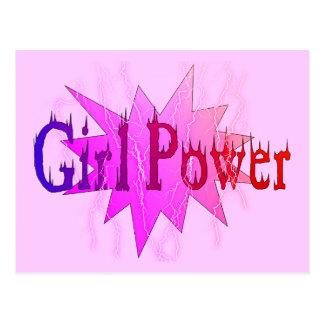 Girl Power Post Card