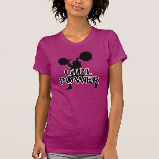 Girl Power Powerlifting T-Shirt