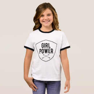 Girl Power Ringer T-Shirt