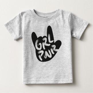 Girl Power Rock Baby T-Shirt