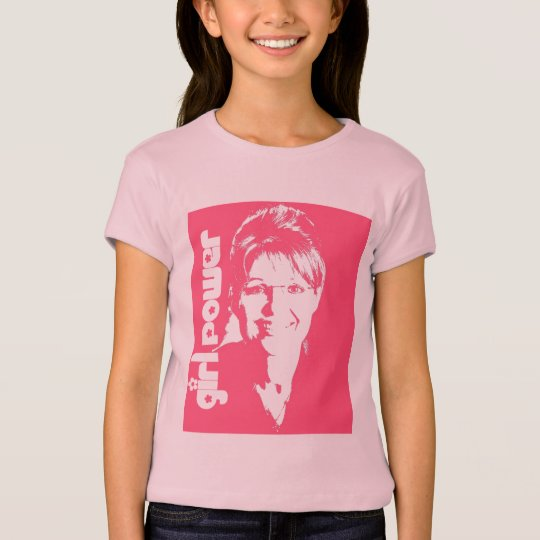 Girl Power - Sarah Palin Girl's Shirt