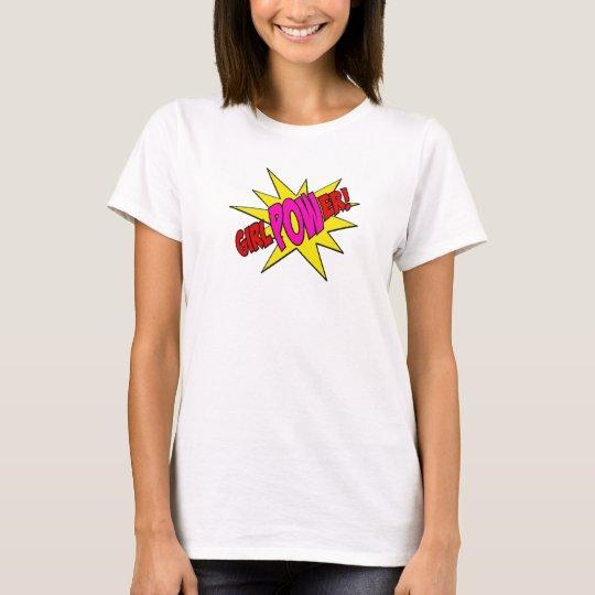 Girl Power T shirt super hero