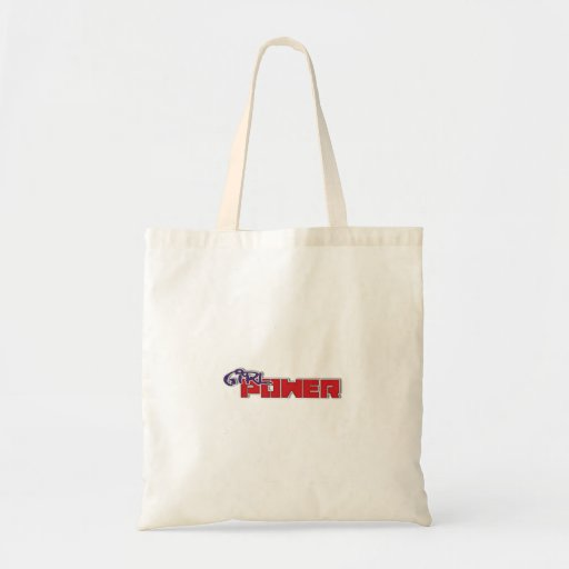 Girl Power Tote Canvas Bag