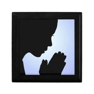 Girl Praying Jewelry Boxes