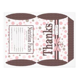 Girl Puff Box Template B 21.5 Cm X 28 Cm Flyer