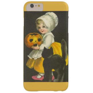 Girl Pumpkin Vintage Halloween iPhone 6 Plus Case