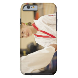 Girl receiving a medal at a Karate championship Tough iPhone 6 Case