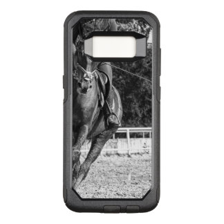 Girl riding a horse OtterBox commuter samsung galaxy s8 case