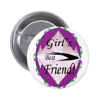 GIRL S BEST FRIEND BUTTON