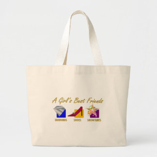 Girl s Best Friends Tote Bag