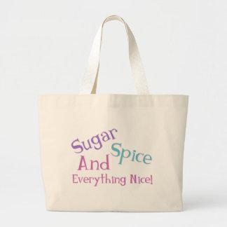 Girl Saying Canvas Bag