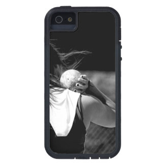 Girl Shotput thrower Cover For iPhone 5