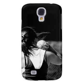 Girl Shotput thrower Galaxy S4 Case