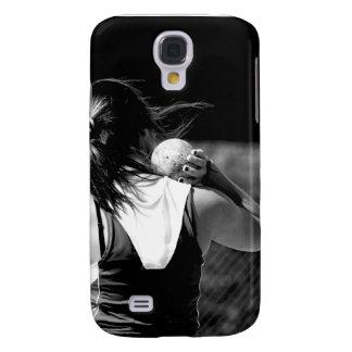 Girl Shotput thrower Samsung Galaxy S4 Case