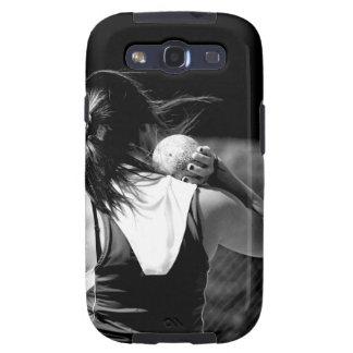Girl Shotput thrower Samsung Galaxy S3 Case