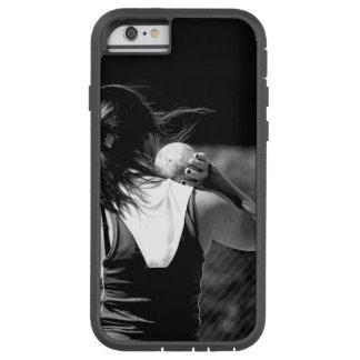 Girl Shotput thrower Tough Xtreme iPhone 6 Case