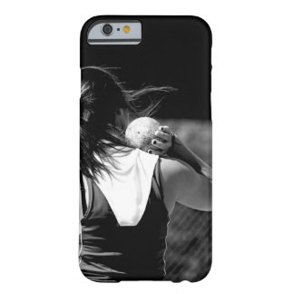 Girl Shotput thrower Barely There iPhone 6 Case