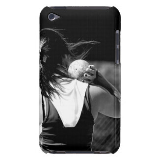 Girl Shotput thrower Barely There iPod Cases
