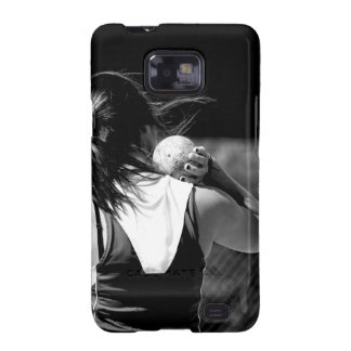 Girl Shotput thrower Samsung Galaxy SII Covers