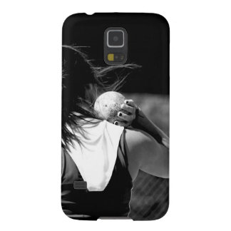 Girl Shotput thrower Cases For Galaxy S5