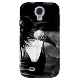 Girl Shotput thrower Galaxy S4 Case