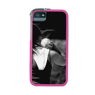 Girl Shotput thrower Case For iPhone 5