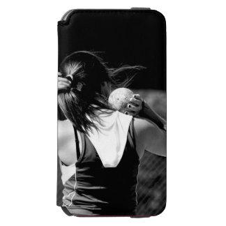 Girl Shotput thrower Incipio Watson™ iPhone 6 Wallet Case
