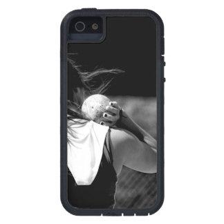 Girl Shotput thrower iPhone 5 Case