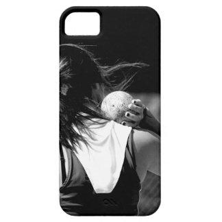 Girl Shotput thrower iPhone 5 Cover