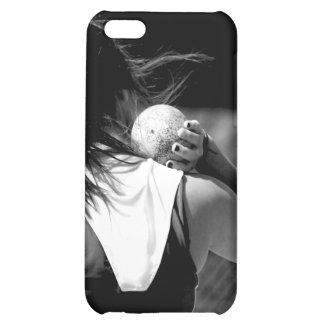 Girl Shotput thrower iPhone 5C Case