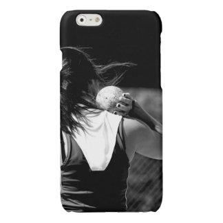 Girl Shotput thrower iPhone 6 Plus Case